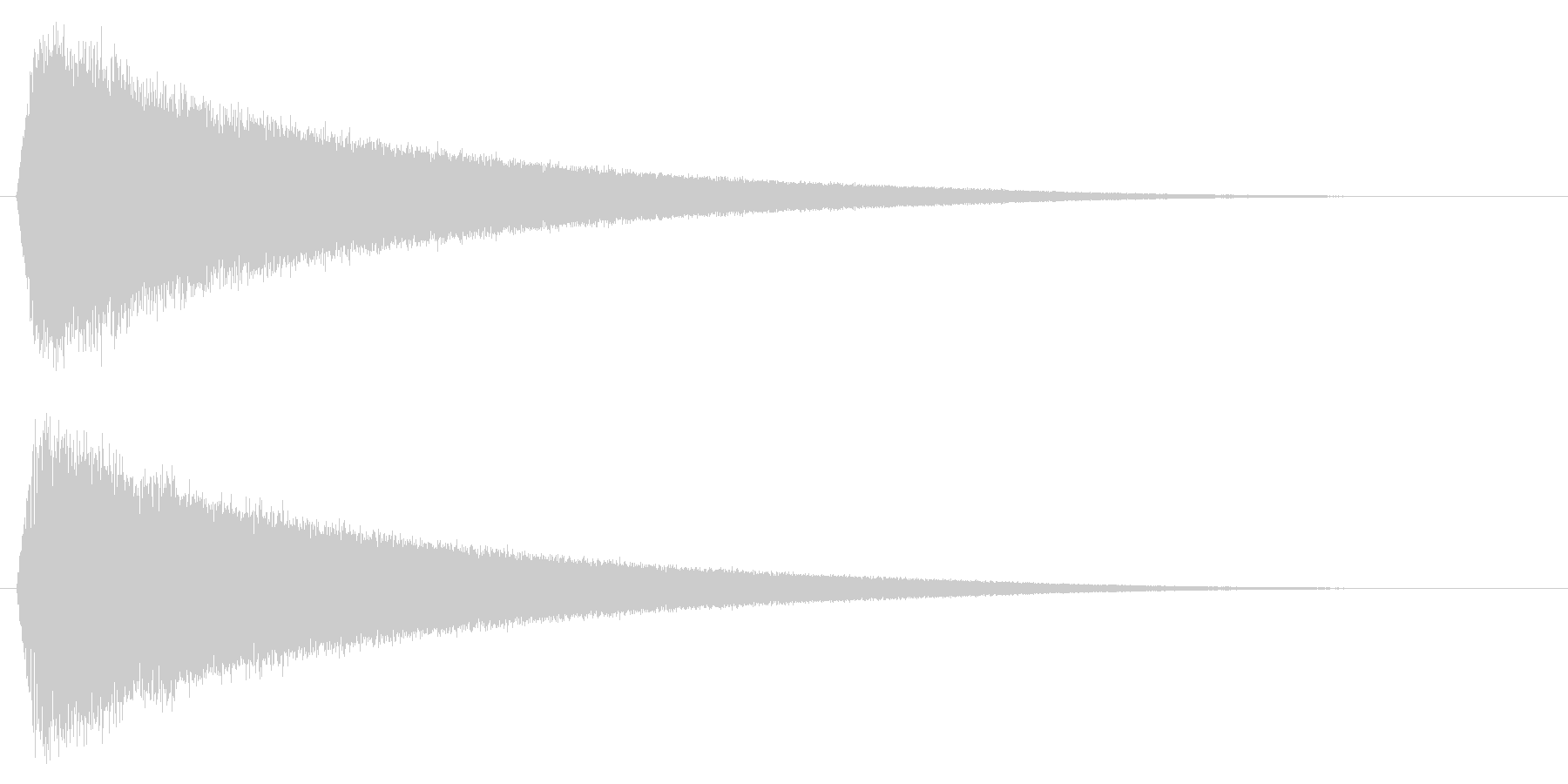 バリア/魔法/結界の未再生の波形