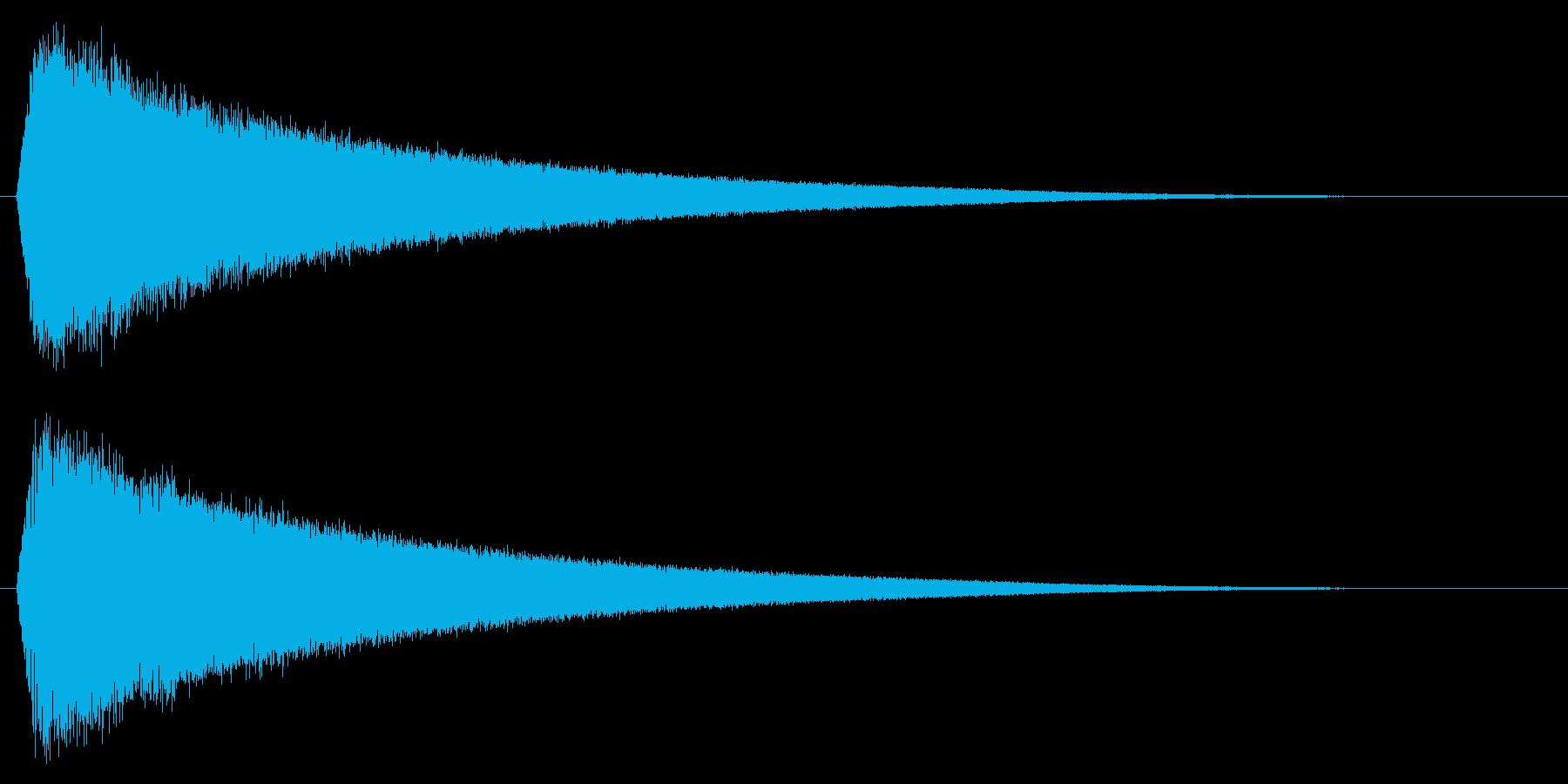 バリア/魔法/結界の再生済みの波形
