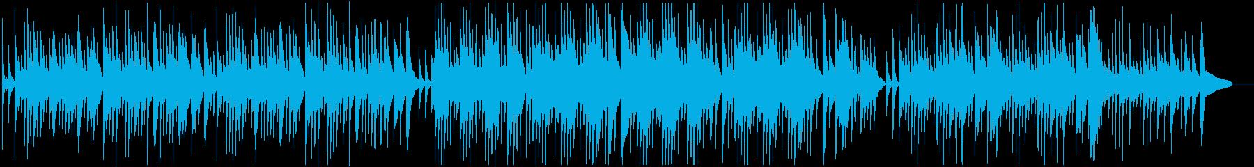 物悲しいバラード調のピアノソロの再生済みの波形