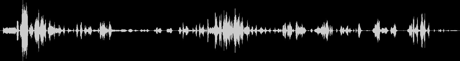群集 トークラフ02の未再生の波形