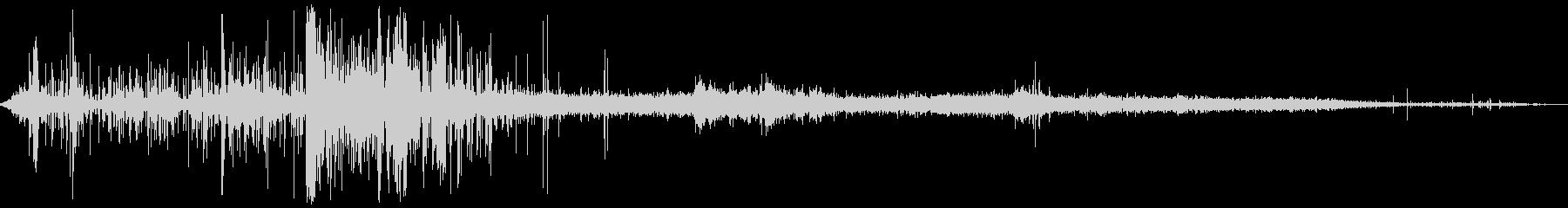 スプレーガン付きガーデンホース:シ...の未再生の波形