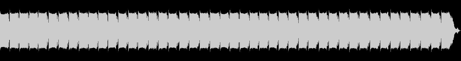 不安感を煽るノイズの未再生の波形