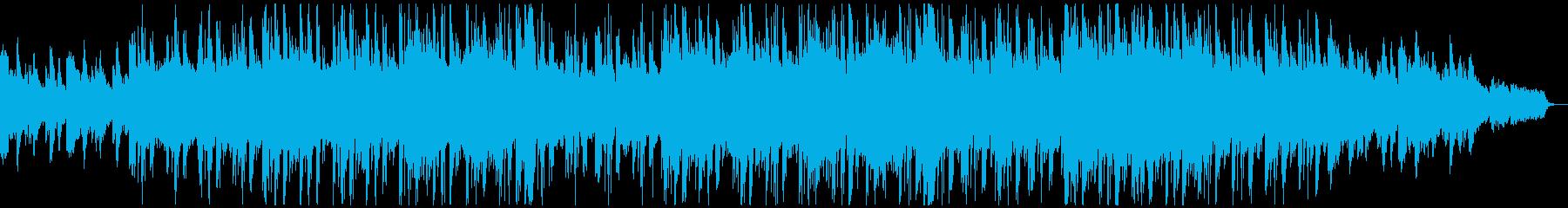 月がテーマのハイテンポのエレクトロの再生済みの波形