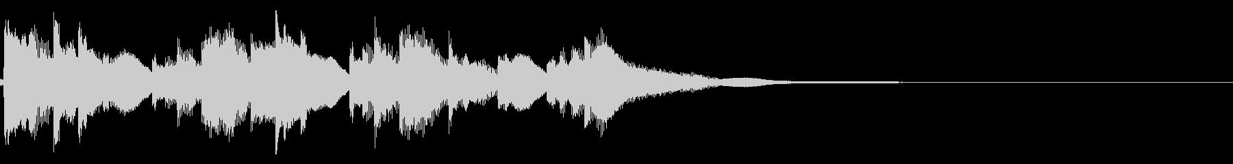 琴☆アイキャッチ2 リバーブ有の未再生の波形