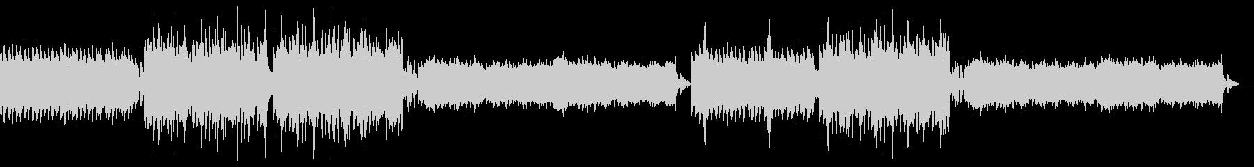 【ホラー系BGM】不気味な洋風ホラー曲の未再生の波形