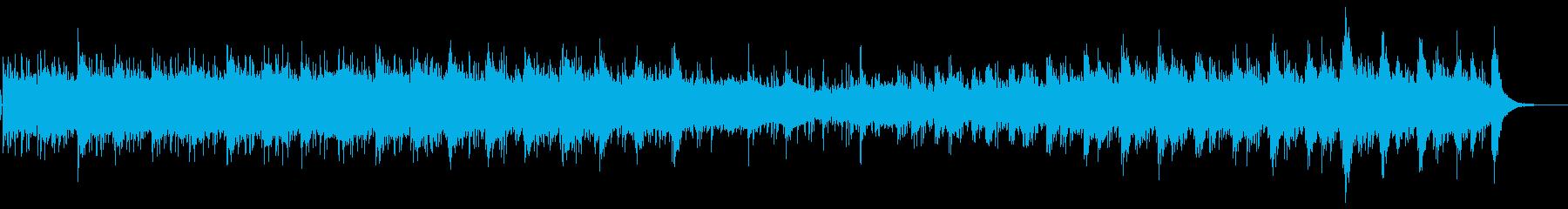 琴を使った日本の風景、職人、芸術用BGMの再生済みの波形
