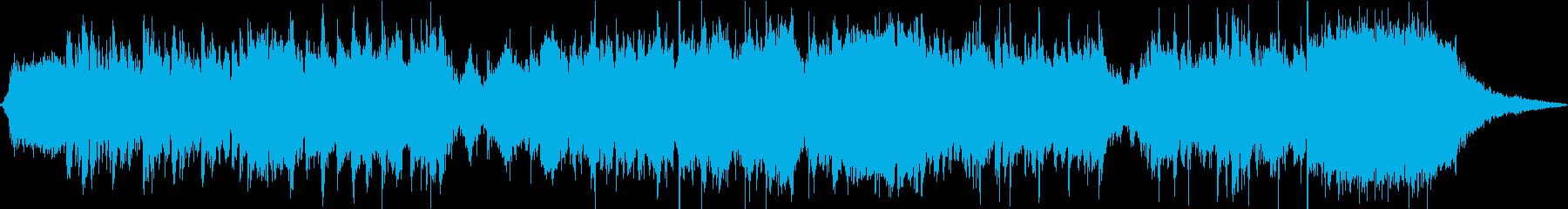 ティムバートンの映画とゾンビカーニ...の再生済みの波形