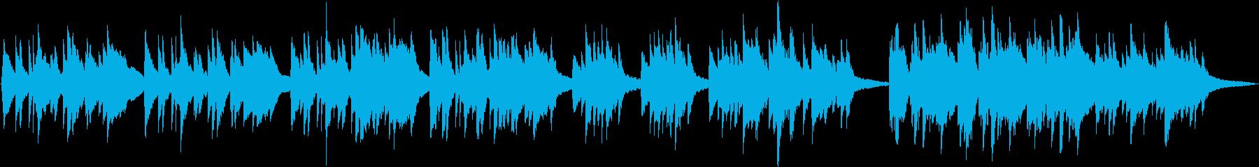 ピアノ生演奏/和風・夕暮れ・雨・ジブリの再生済みの波形