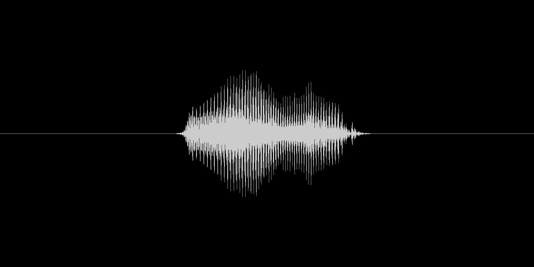 2(数字、女性ver.2)の未再生の波形