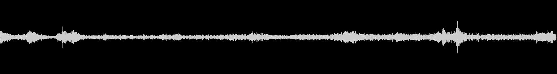 重機で建物(パン工場)を解体する音 の未再生の波形