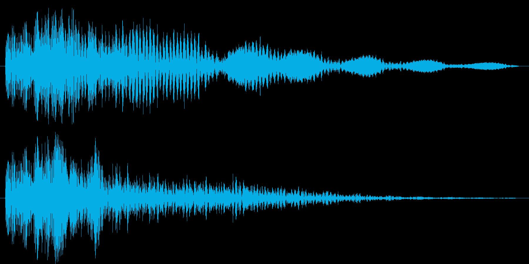 ズゥウンウン (怪人登場)の再生済みの波形