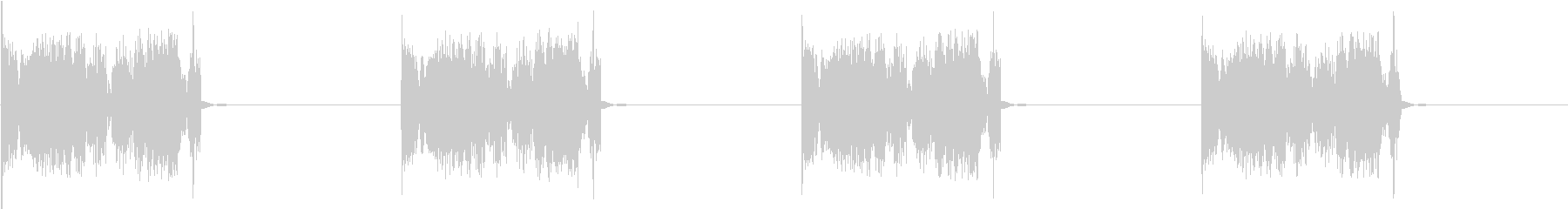 DJプレイ スクラッチ・ノイズ 36の未再生の波形