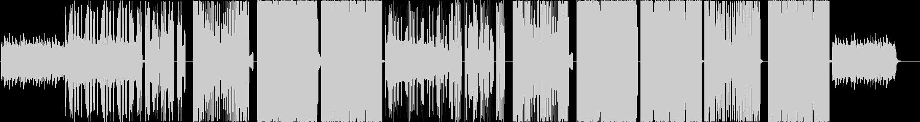 おしゃれフューチャーベースの未再生の波形