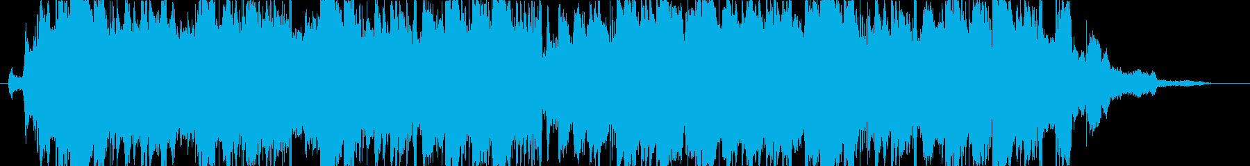 ポップで爽やかなEDM風ジングルの再生済みの波形
