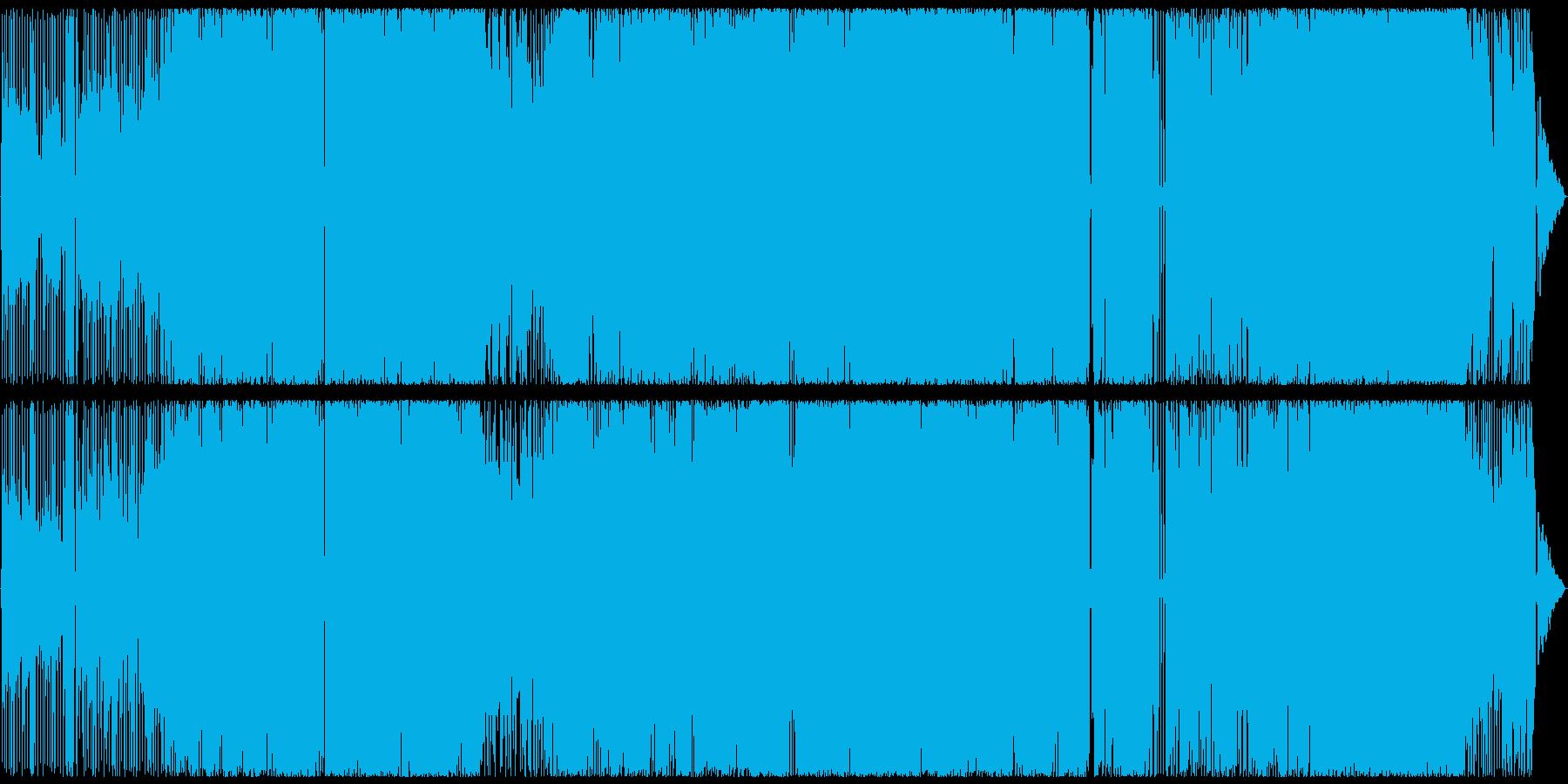 カワボでAORの再生済みの波形