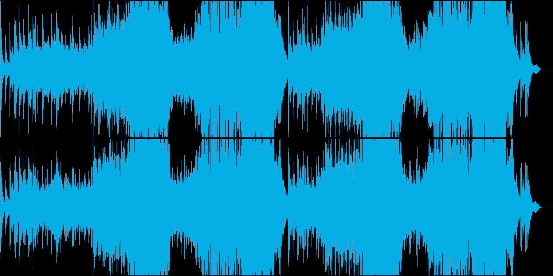 琴で奏でるFuture Pop/メロ無の再生済みの波形