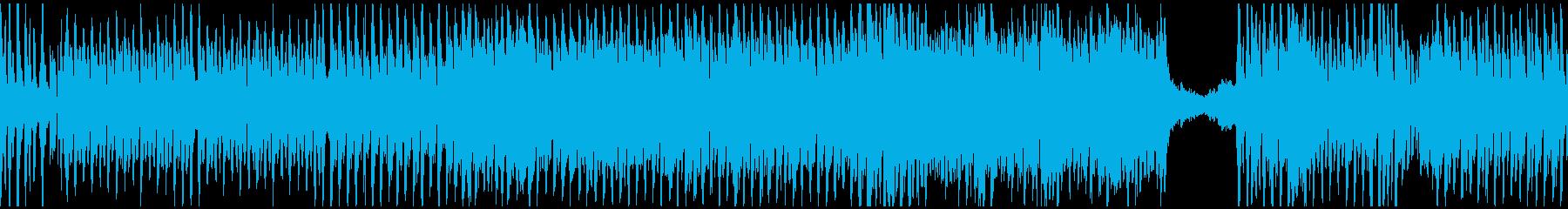 ポップなゴシックオーケストラ(ループ)の再生済みの波形