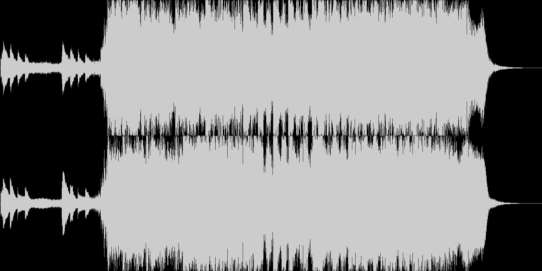 ロマンチックな印象のジングル 30秒の未再生の波形