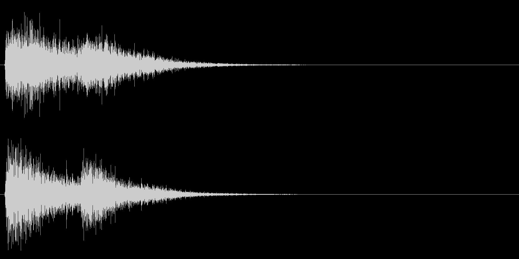 グワグワンの未再生の波形
