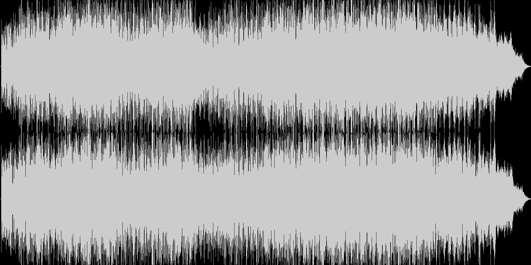 力強く、エネルギッシュなエレクトロハウ…の未再生の波形