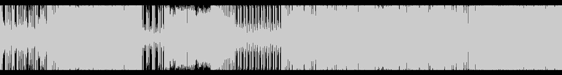 【ループ仕様】三味線×エレクトロサウンドの未再生の波形
