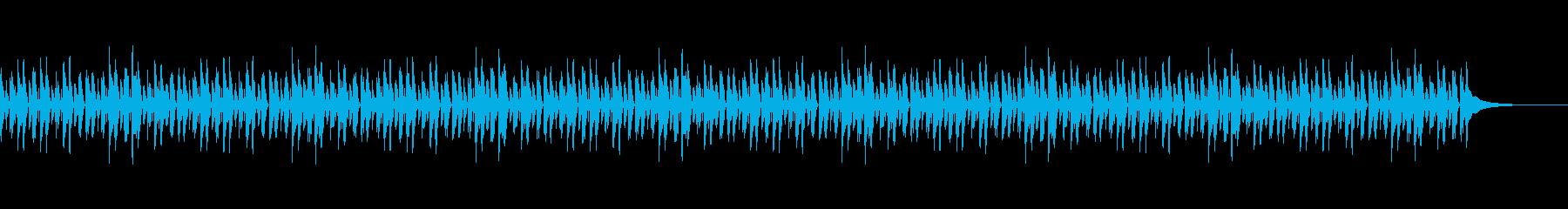 日常系BGMcの再生済みの波形