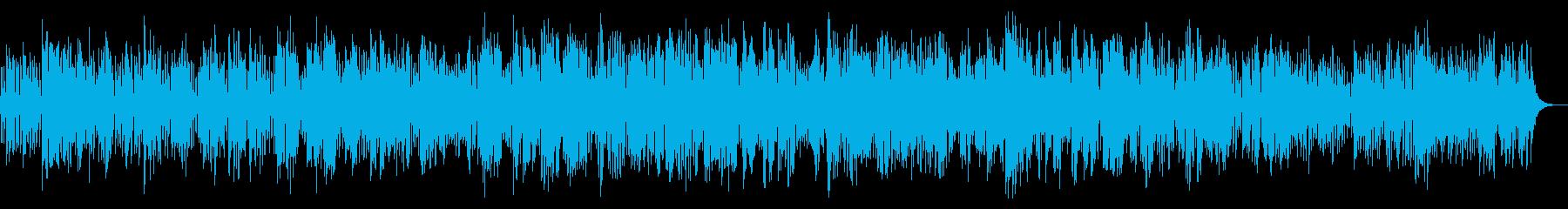 陽気で明るいクラリネットジャズの再生済みの波形