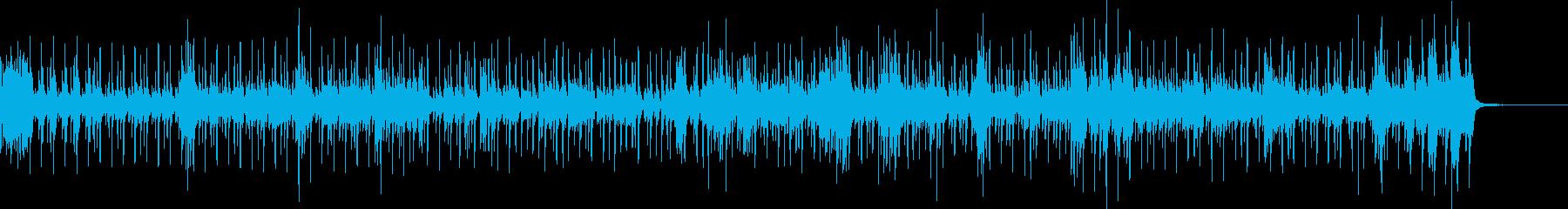 切迫感を伝える音ですべてのドラムキ...の再生済みの波形