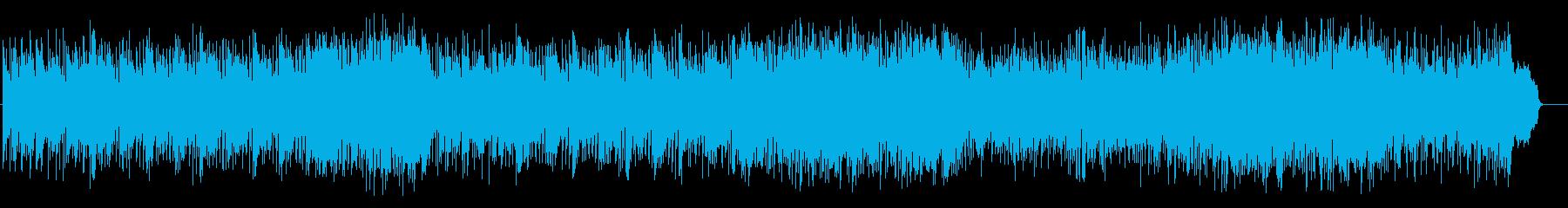 大人の軽快なフュージョン(フルサイズ)の再生済みの波形