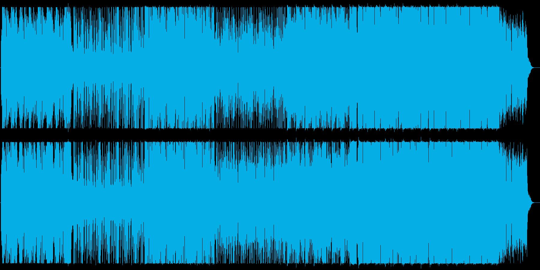 和楽器を使用したほのぼのPOPSの再生済みの波形