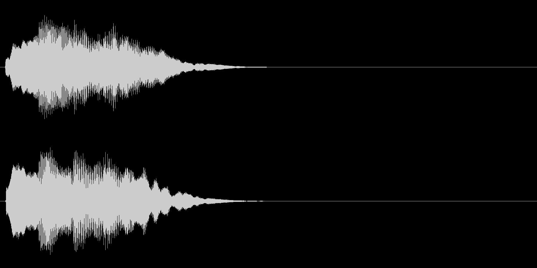 汎用 キラキラ系06(大) アイテム発見の未再生の波形