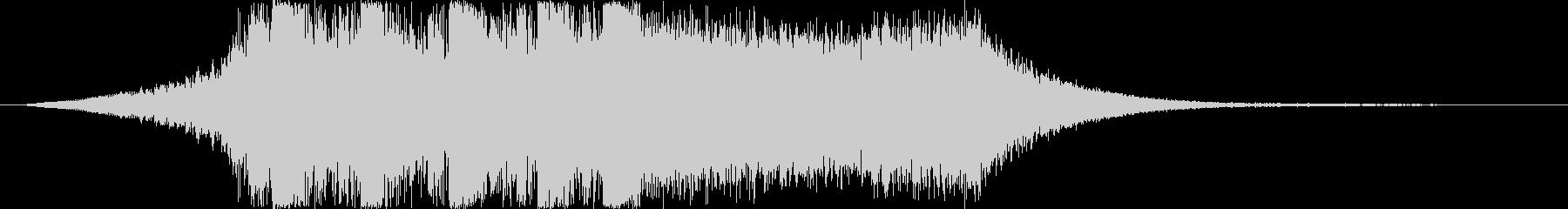 シンセオープニングインパクト_ショート2の未再生の波形