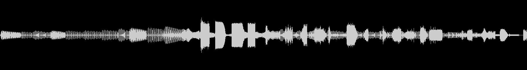 Electro EFX 3の未再生の波形