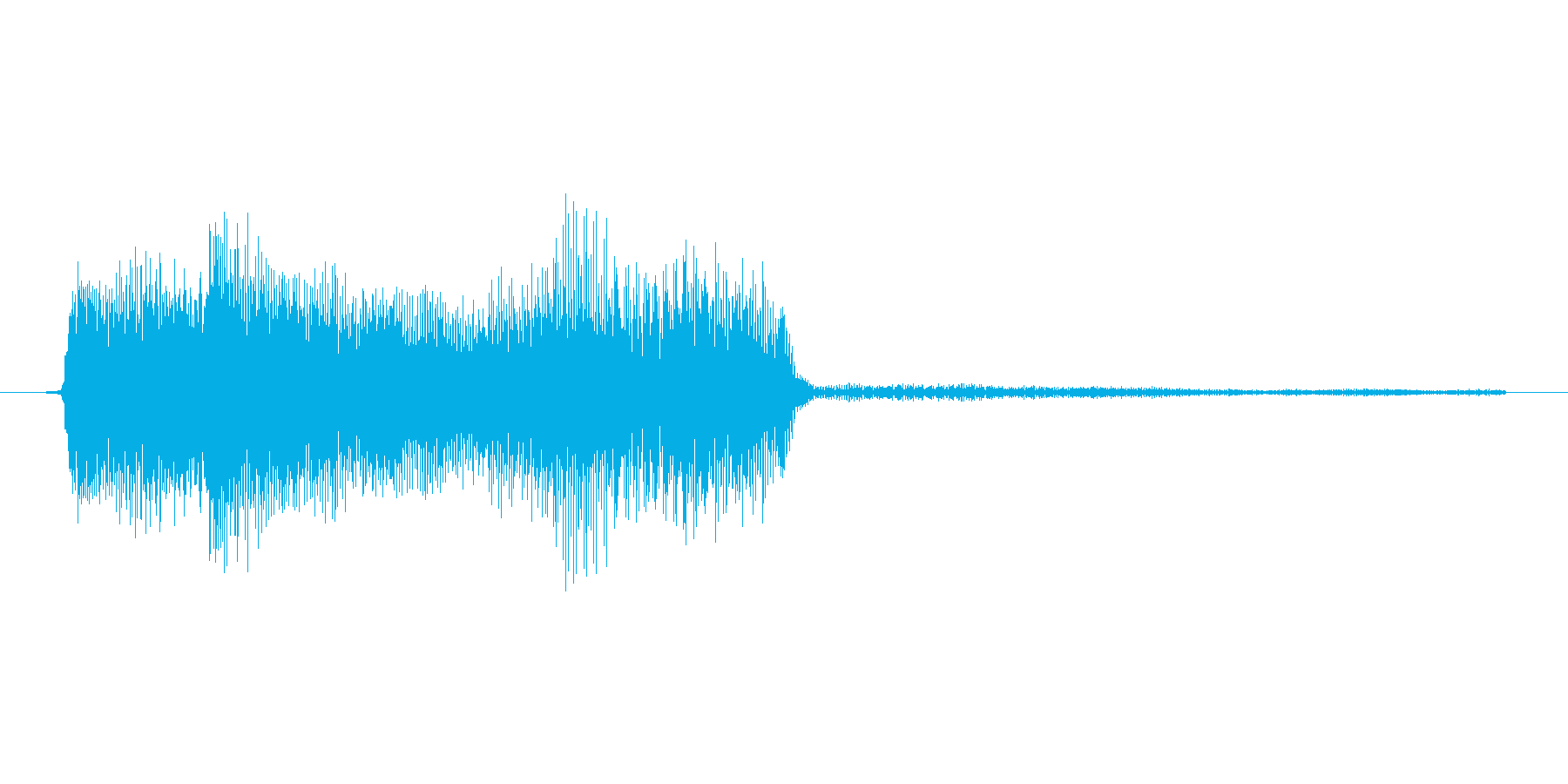 ゲーム、クイズ(ピンポン音)_009の再生済みの波形