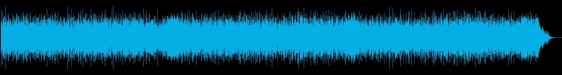 ストレートなロックンロールの再生済みの波形