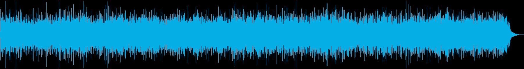 軽快マンドリンソロ、ブルーグラスの再生済みの波形