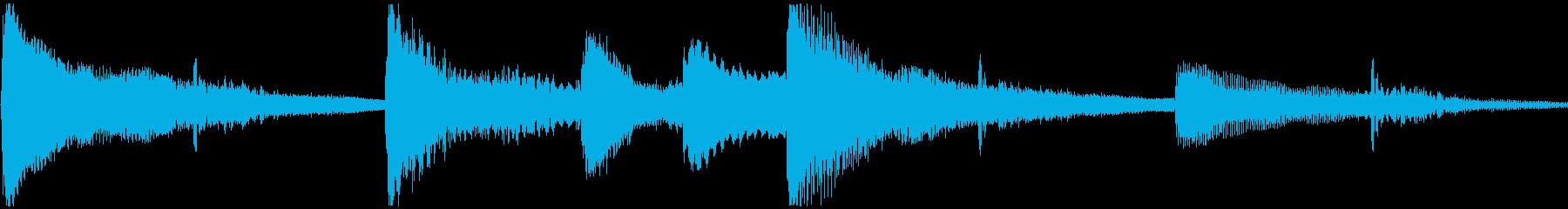 <Loop>ゆったり ピアノ②の再生済みの波形