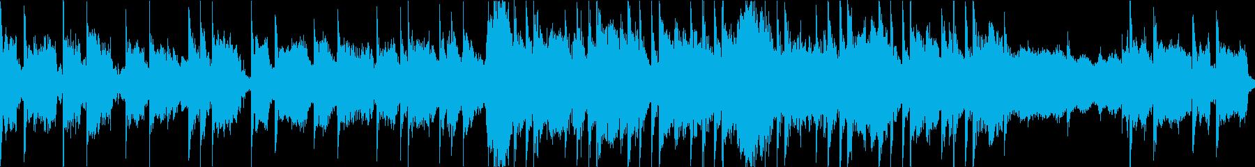 和風感動系バラードBGMループ可の再生済みの波形