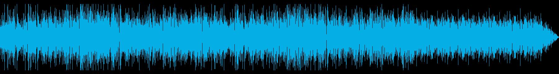 穏やかなイメージのインスト・ポップの再生済みの波形