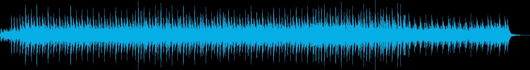 明るいエスニック風チルアウトの再生済みの波形