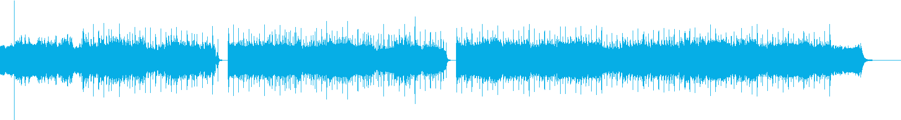 メロー、メロディック、グルーヴィーの再生済みの波形