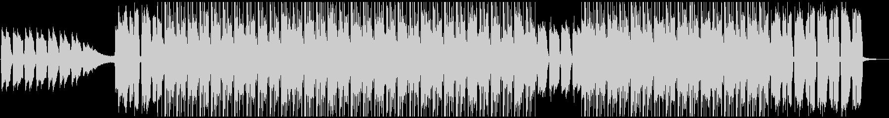 ギターの落ち着いたサウンドが特徴のBGMの未再生の波形