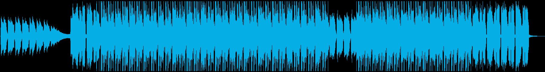 ギターの落ち着いたサウンドが特徴のBGMの再生済みの波形