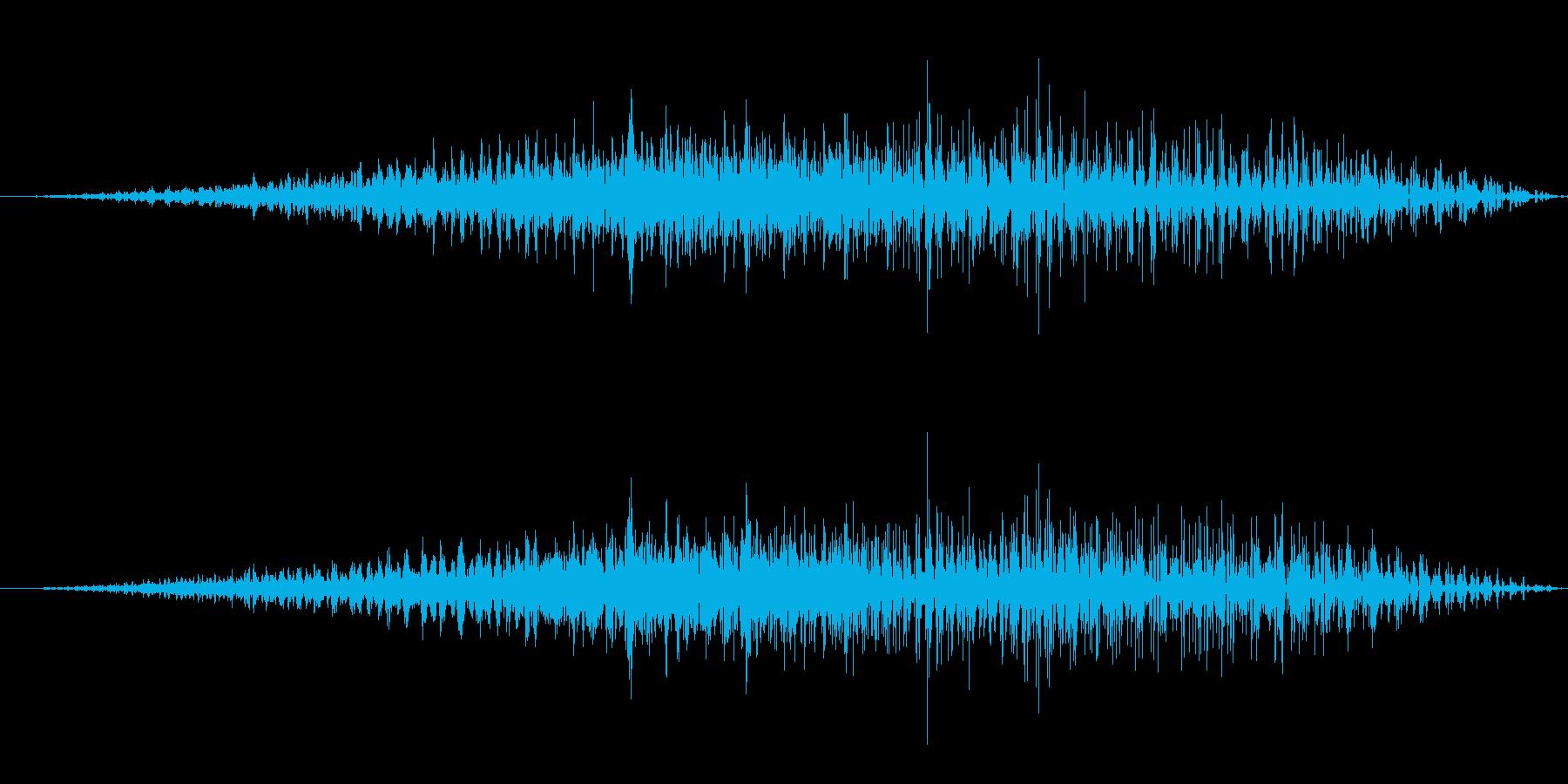 ギューン(能力値ダウン/魔法/下降)の再生済みの波形