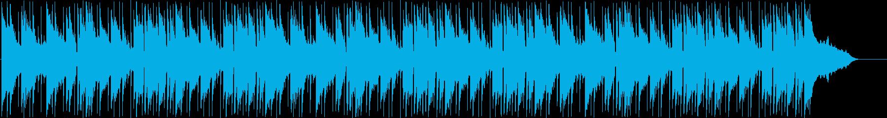 ポップ、スロームービング、ライト、...の再生済みの波形