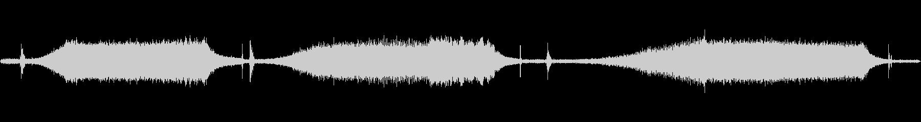 テープデッキ:ソレノイドスイッチと...の未再生の波形