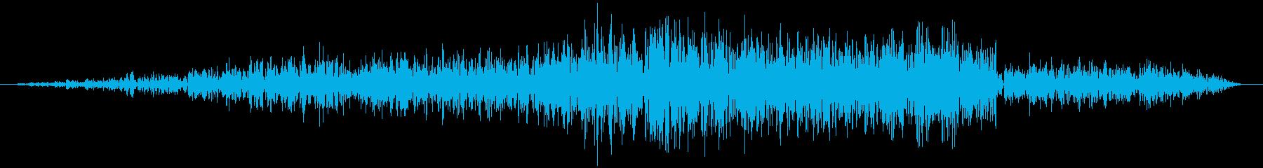 シュワ(モニター表示 フォルダ開く)の再生済みの波形