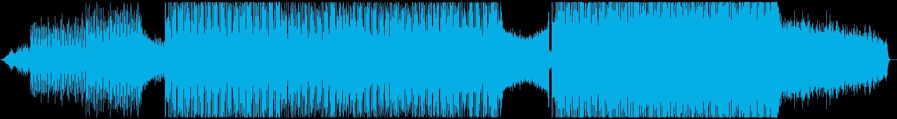 爽やかで躍進的な企業イメージに最適な楽曲の再生済みの波形