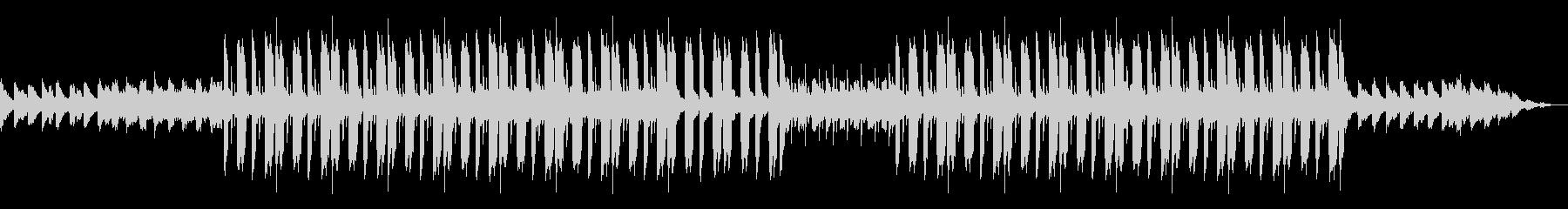 ムード溢れるローファイヒップホップBGMの未再生の波形