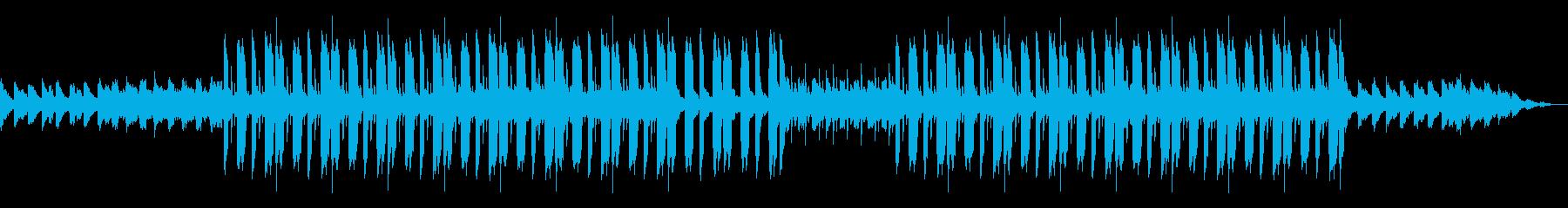 ムード溢れるローファイヒップホップBGMの再生済みの波形